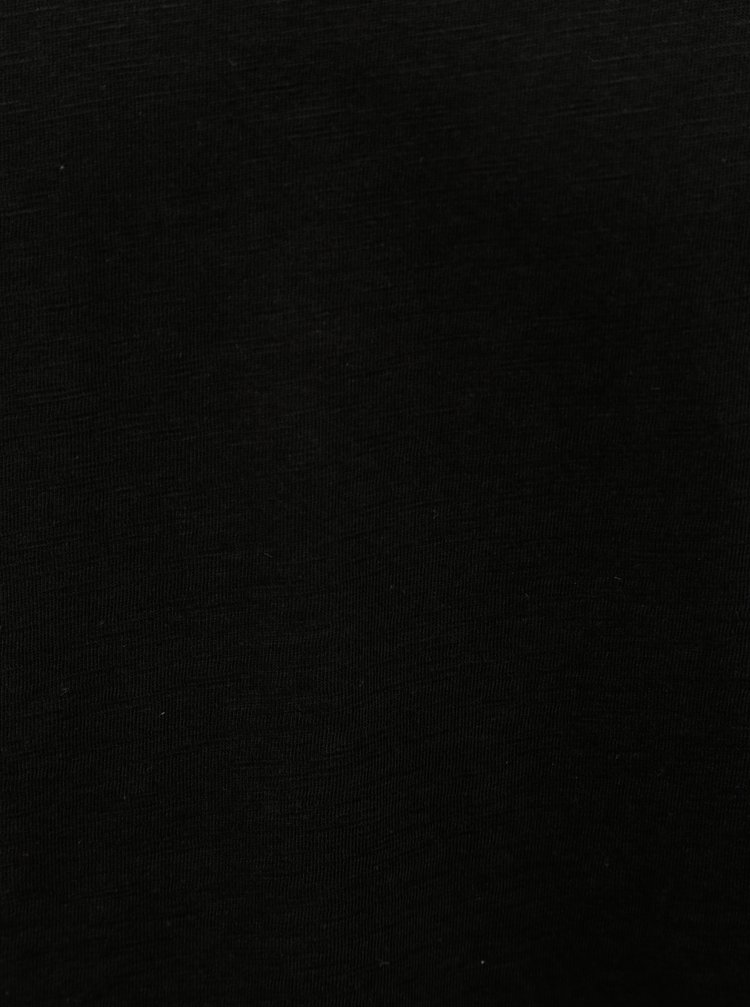 Černé tričko Jack & Jones Bas
