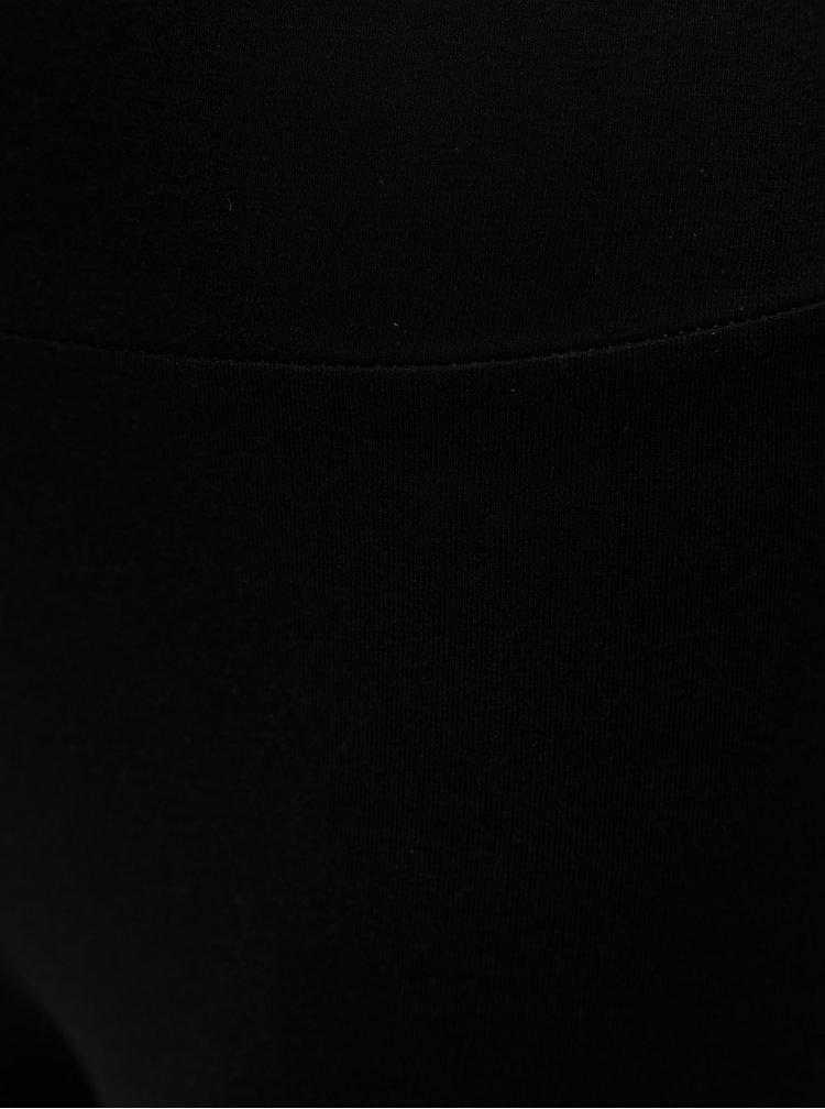 Černé legíny s vysokým pasem Dorothy Perkins