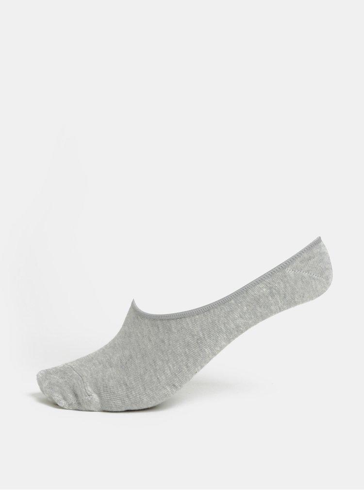 Sada tří párů dámských ponožek v šedé, modré a černé barvě Happy Socks 3-Pack Big Dot Liners