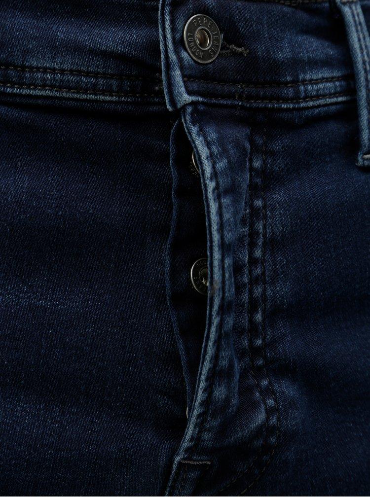 Tmavě modré pánské regular džíny Pepe Jeans