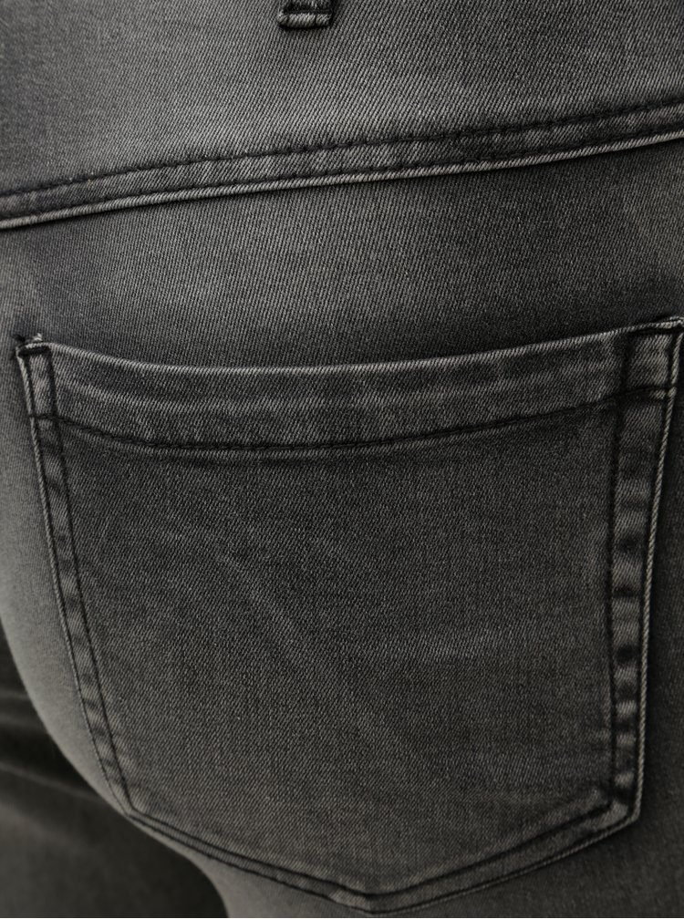 Šedé slim džíny Zizzi