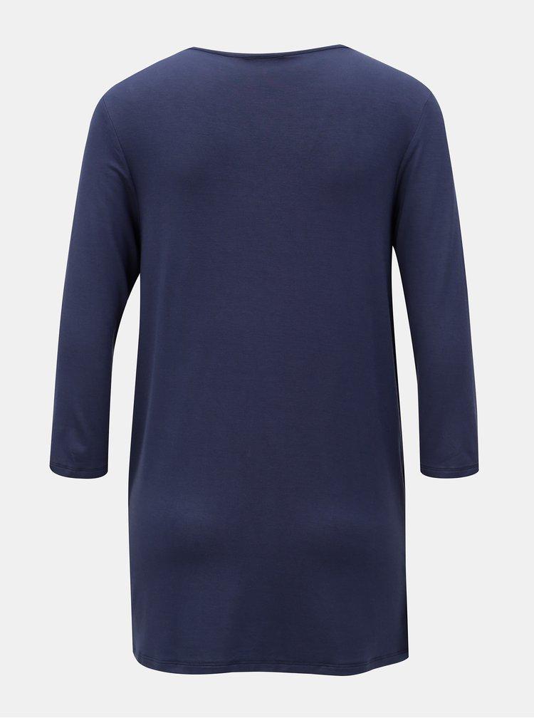 Tmavě modré kojicí tričko Mama.licious