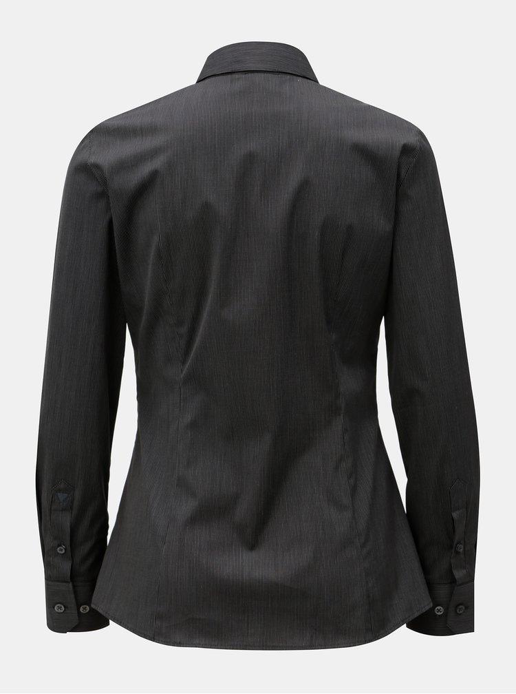 Černá dámská pruhovaná košile  VAVI
