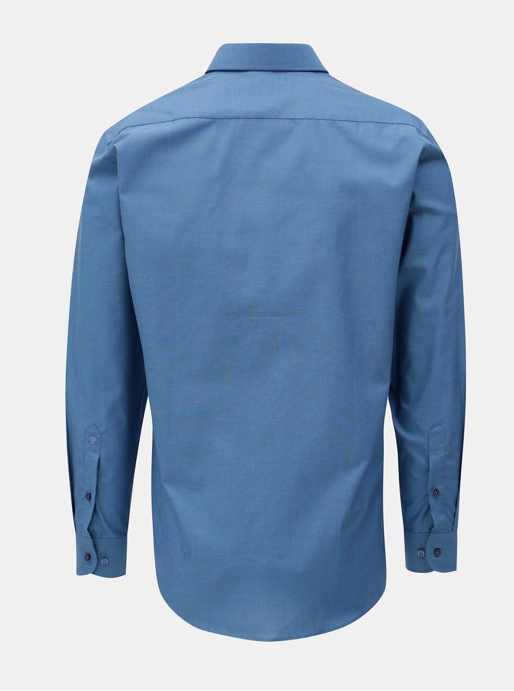 Modrá pánská formální košile VAVI