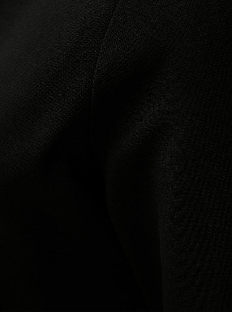 Černé midišaty s 3/4 rukávem VILA Tinny