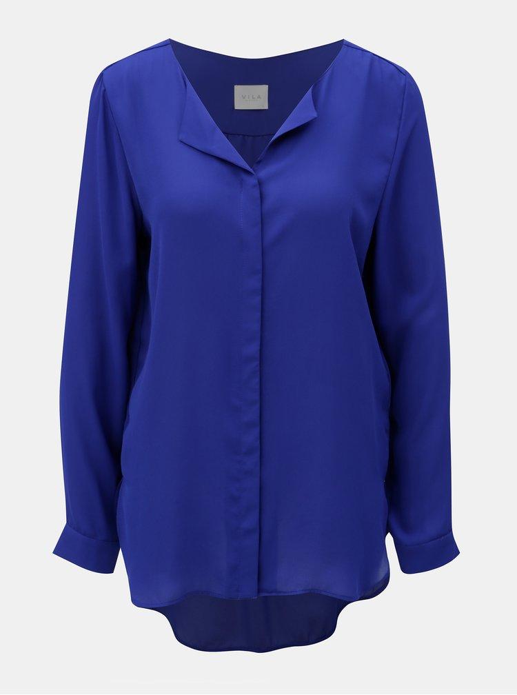 Bluza albastra VILA Lucy