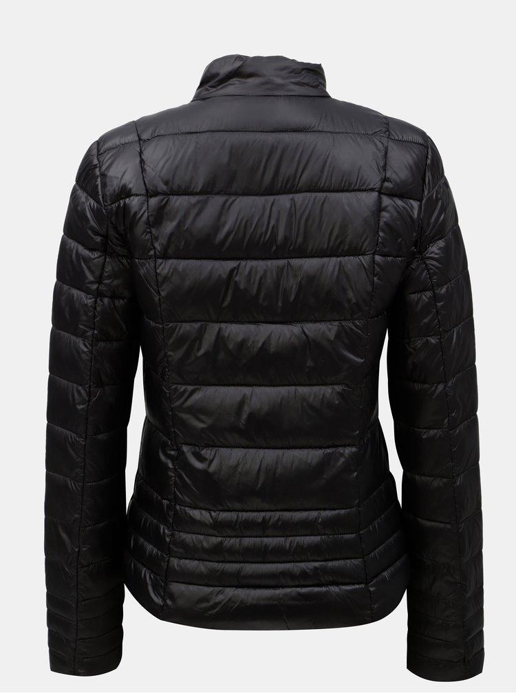 Černá prošívaná bunda VERO MODA Sally