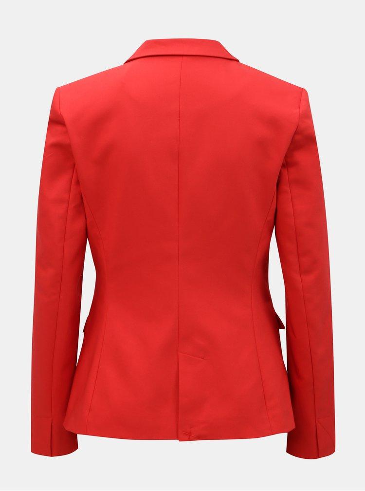 Červené sako VERO MODA Amy