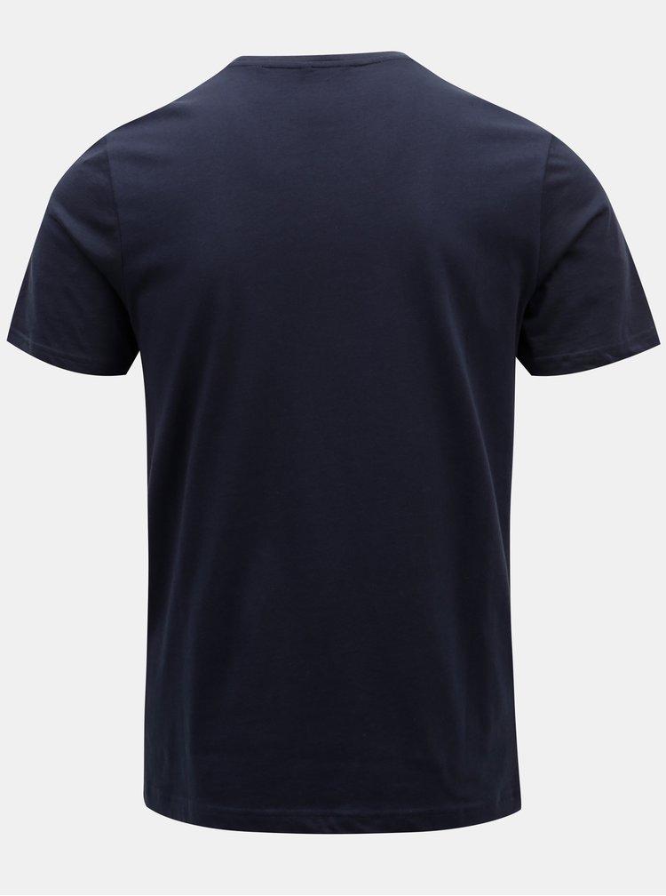 Tmavě modré tričko s potiskem ONLY & SONS