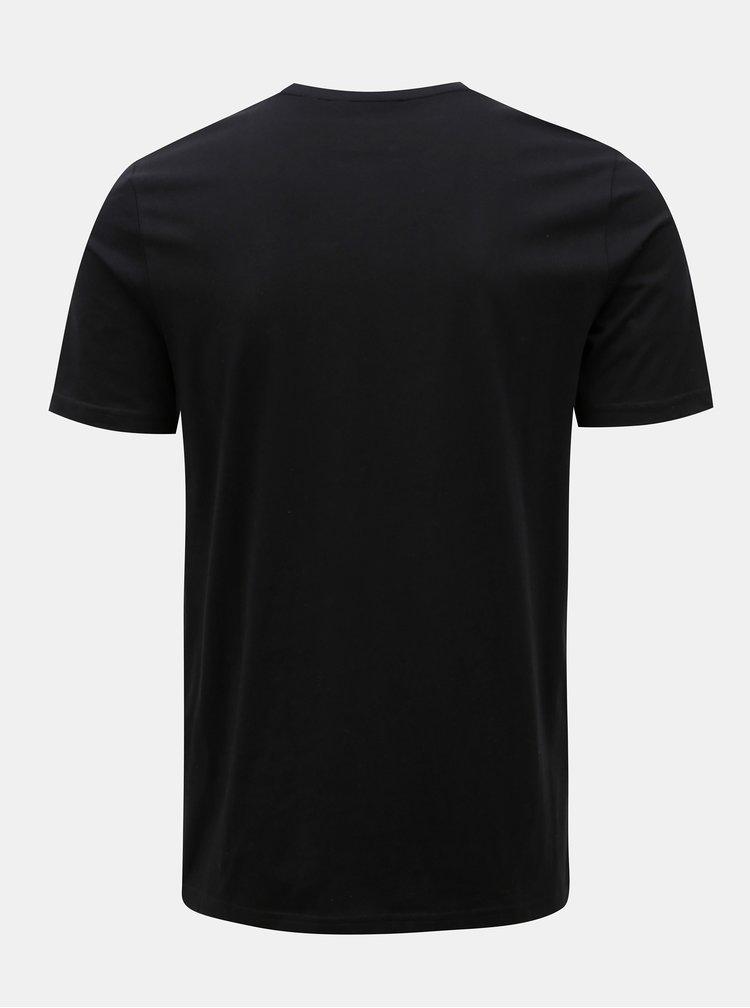 Černé tričko s potiskem ONLY & SONS