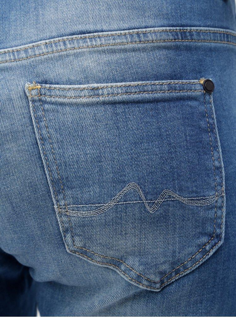 Modré dámské zkrácené džíny Pepe Jeans