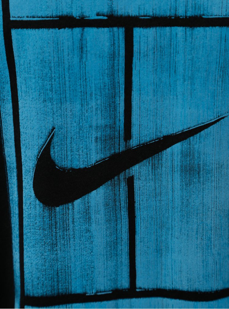Černé pánské tričko s potiskem Nike