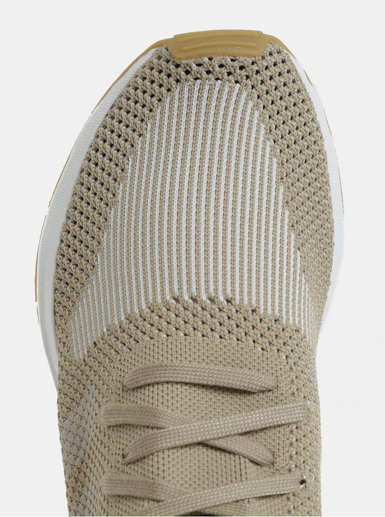 Béžové pánské tenisky adidas Originals Swift run PK