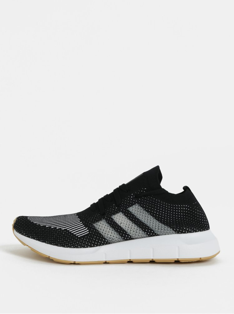 Tenisi barbatesti alb-negru adidas Originals Swift Run PK