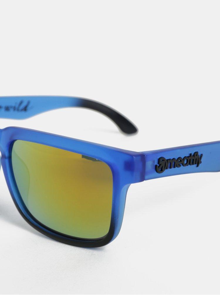 Modré sluneční brýle Meatfly