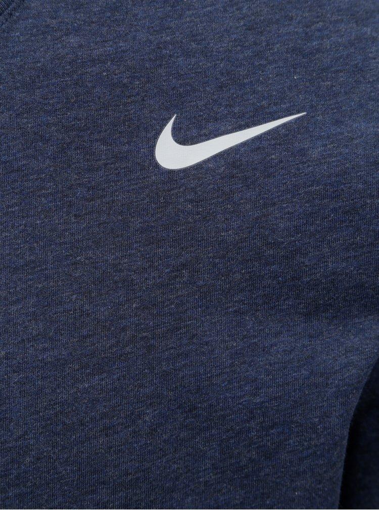 Tmavě modré pánské funkční tričko Nike Block Camo
