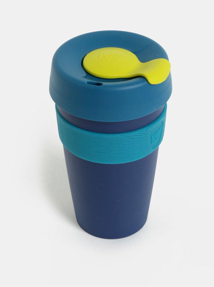 Tmavě modrý cestovní hrnek KeepCup Original Large