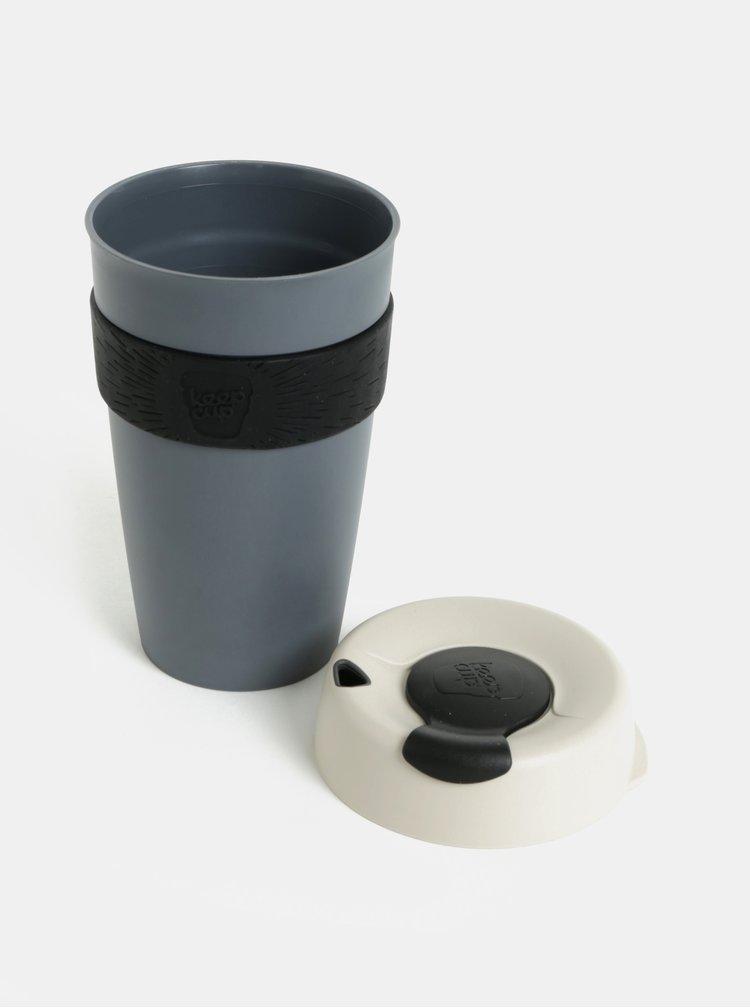 Tmavě šedý cestovní hrnek KeepCup Original Large 454 ml
