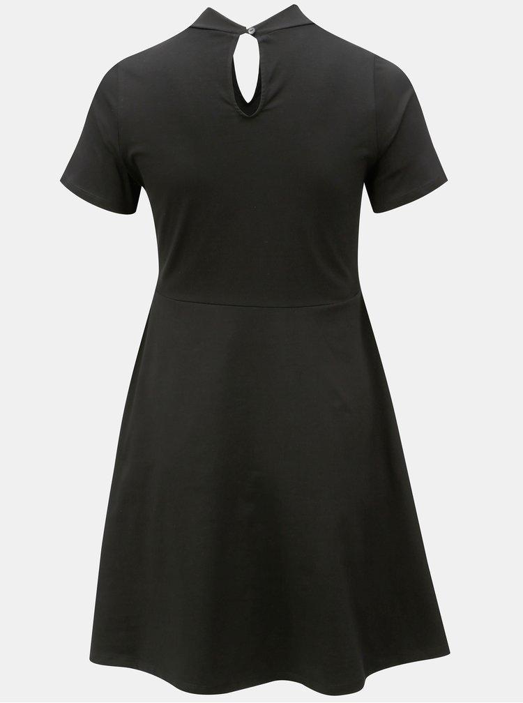 Černé áčkové šaty Dorothy Perkins Curve