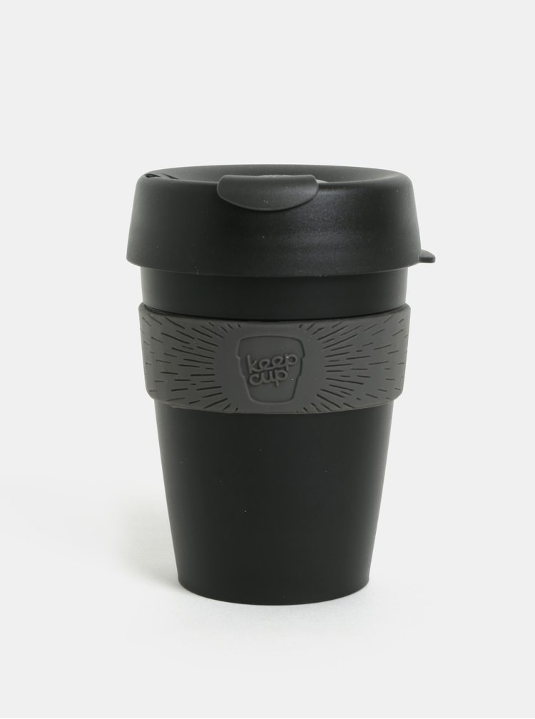 Cana de calatorie gri-neagra KeepCup Original Medium
