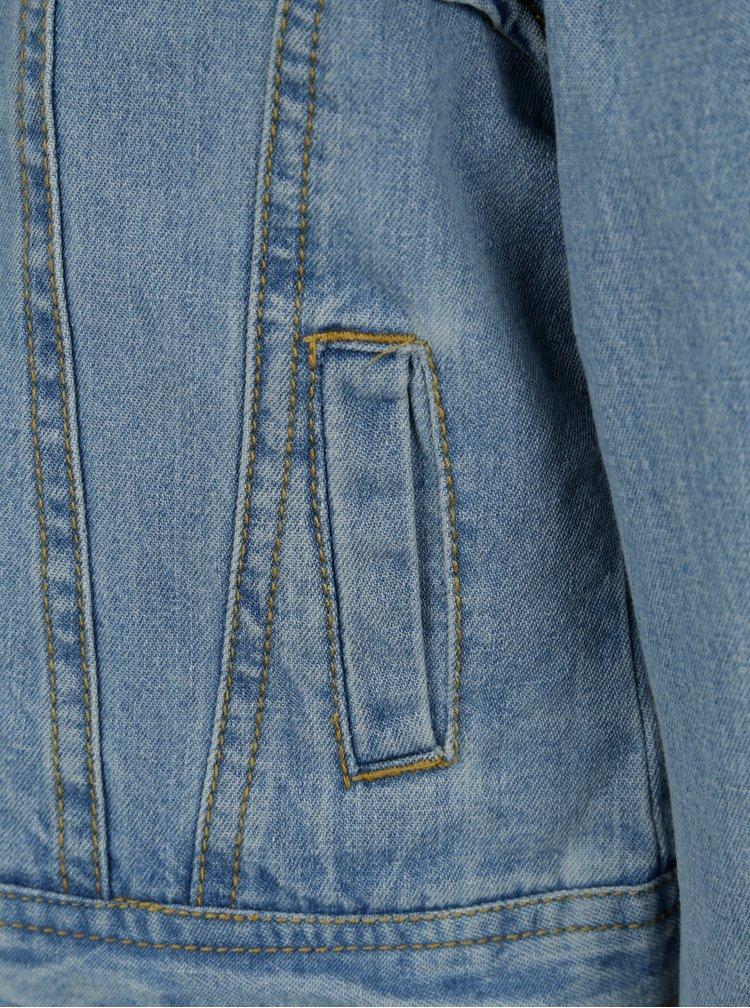 Modrá holčičí džínová bunda Name it Tea