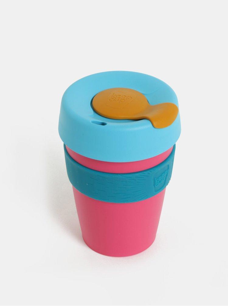 Modro-růžový cestovní hrnek KeepCup Original Medium