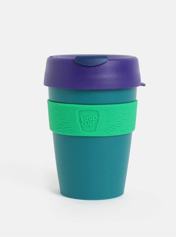 Fialovo-zelený cestovní hrnek KeepCup Original Medium