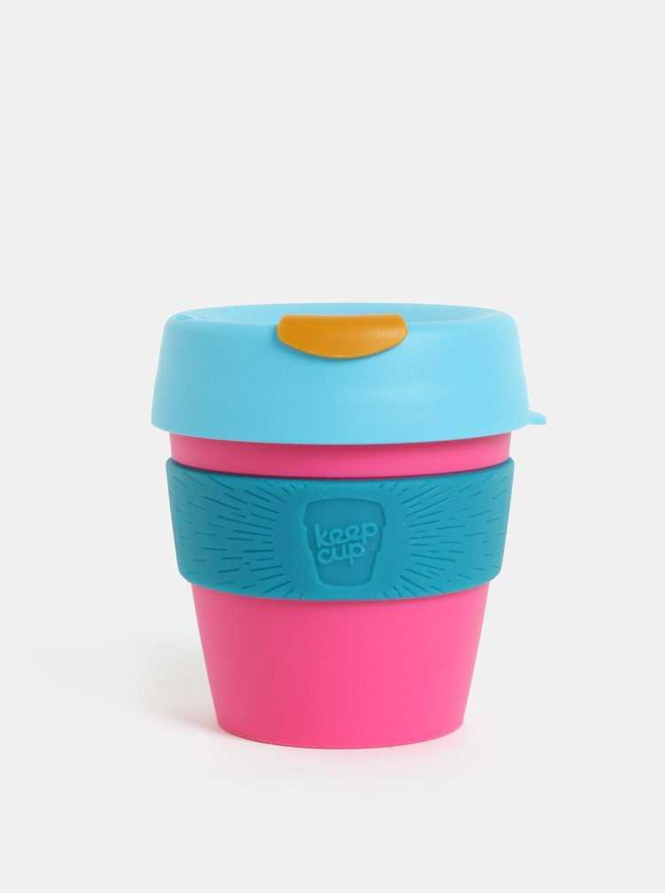 Modro-růžový cestovní hrnek KeepCup Original Small