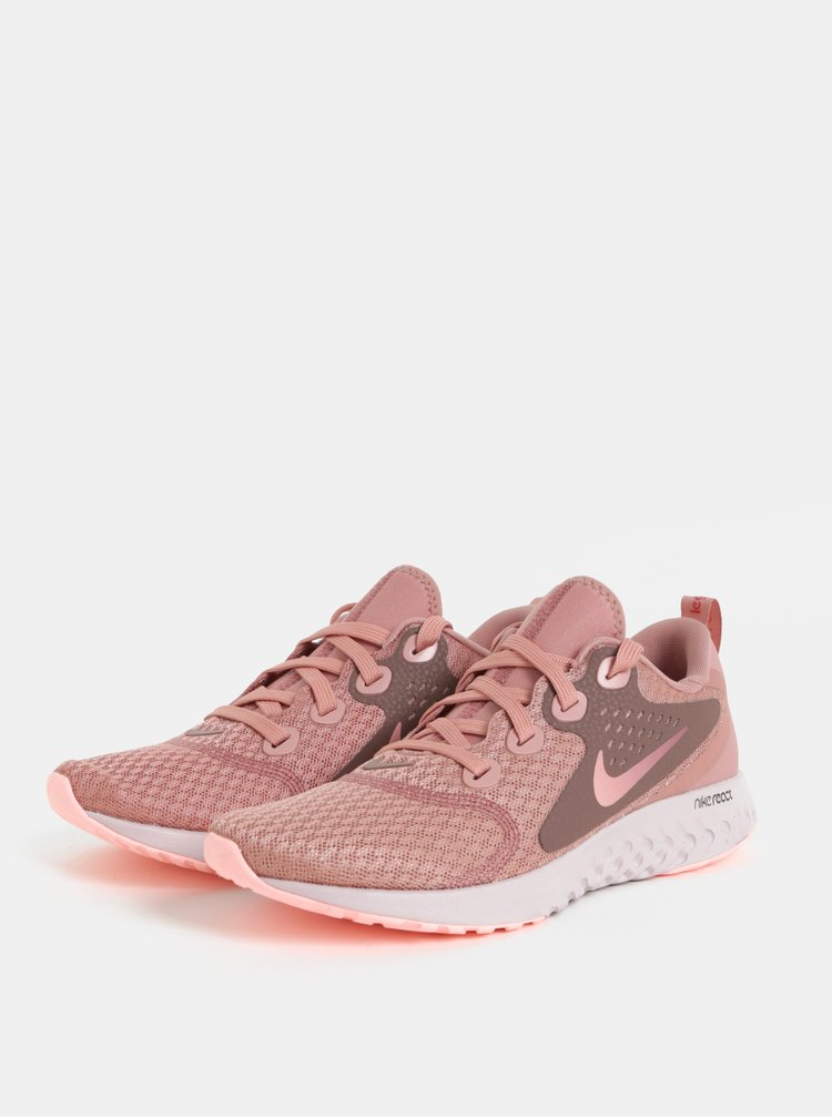 Růžové dámské tenisky Nike Legend React