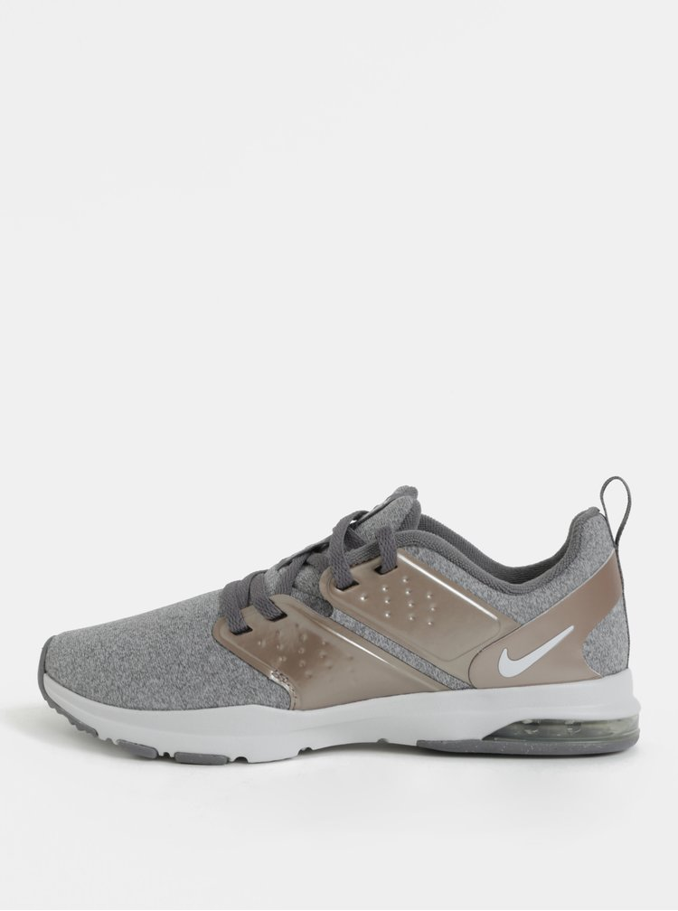 Sivé dámske tenisky Nike Air Bella