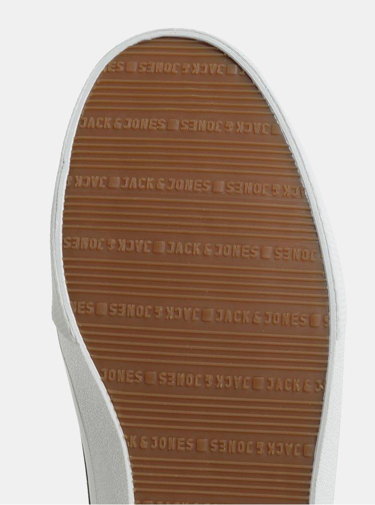 Černé pánské plátěné tenisky Jack & Jones Ashley