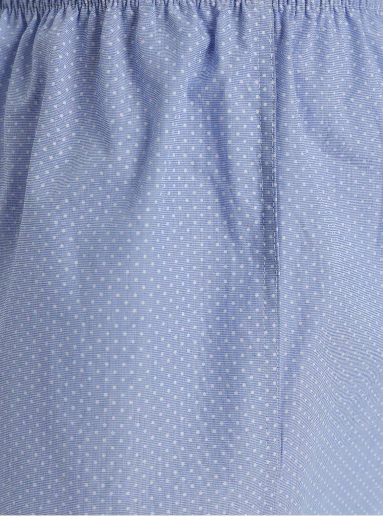 Světle modré dámské vzorované trenýrky ZOOT