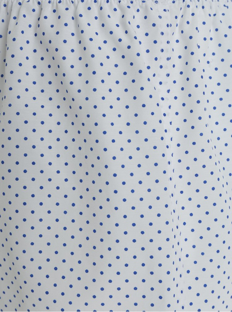 Bílé puntíkované dámské trenýrky ZOOT