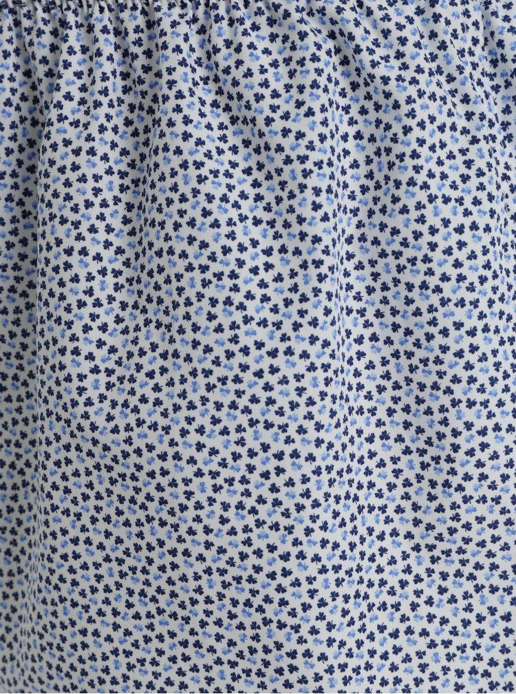 Modro-bílé dámské vzorované trenýrky ZOOT