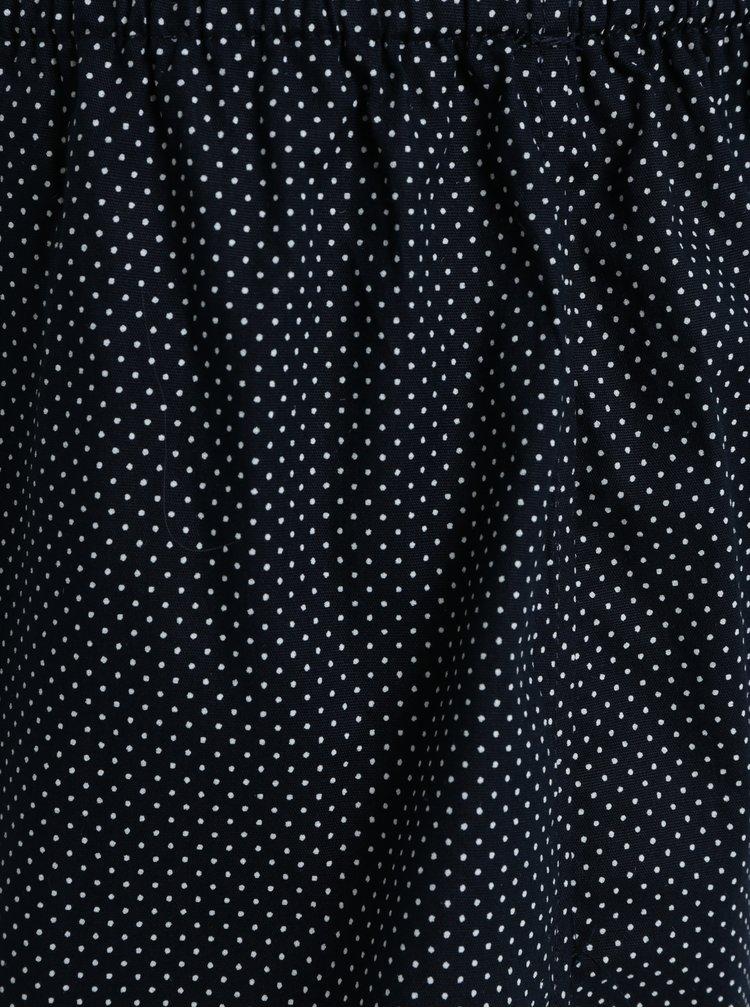 Tmavě modré pánské trenýrky s puntíky ZOOT