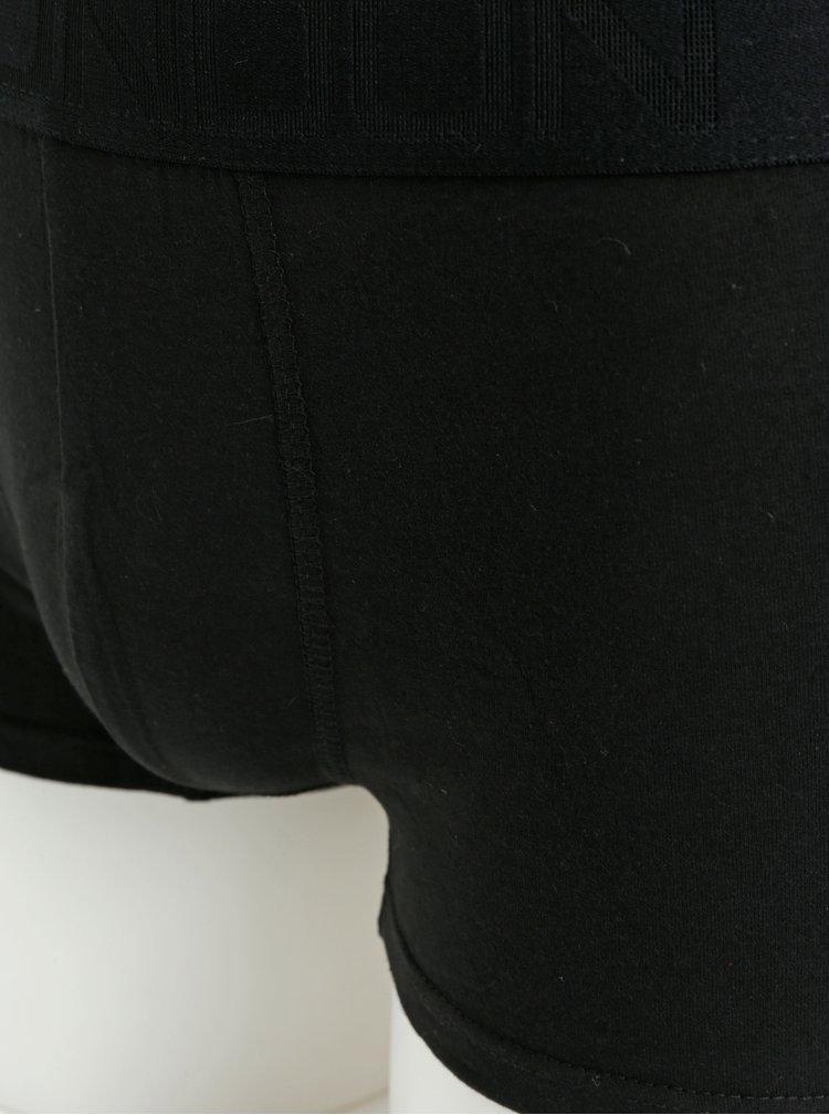 Súprava troch boxeriek v sivej a čiernej farbe Burton Menswear London