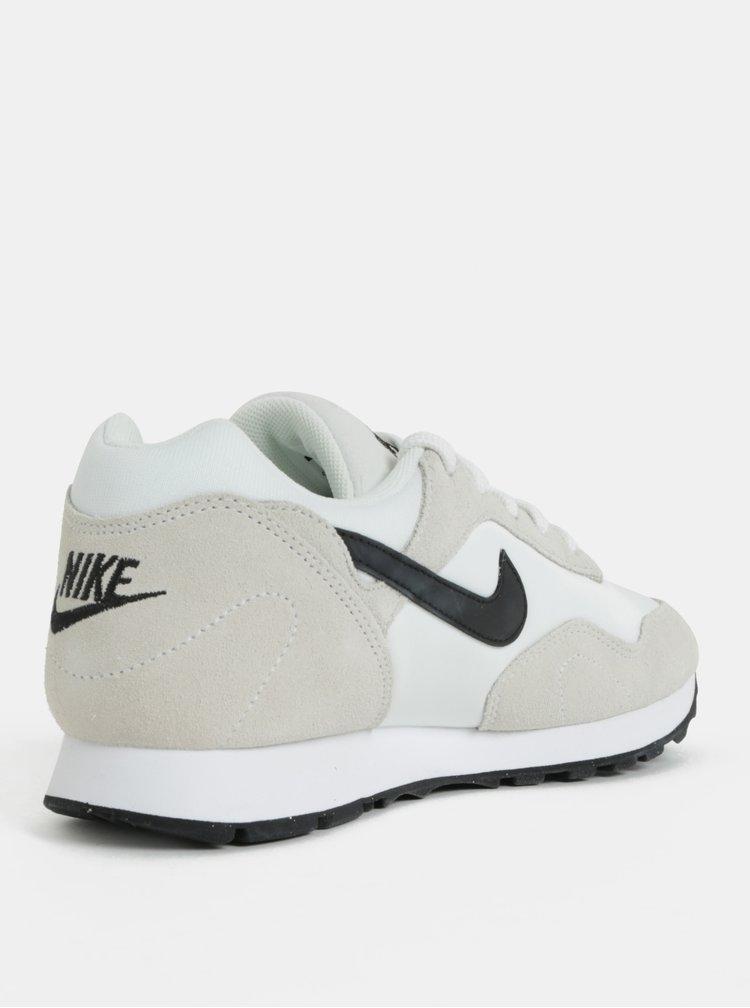 Krémovo-bílé dámské semišové tenisky Nike Blazer Low Leather
