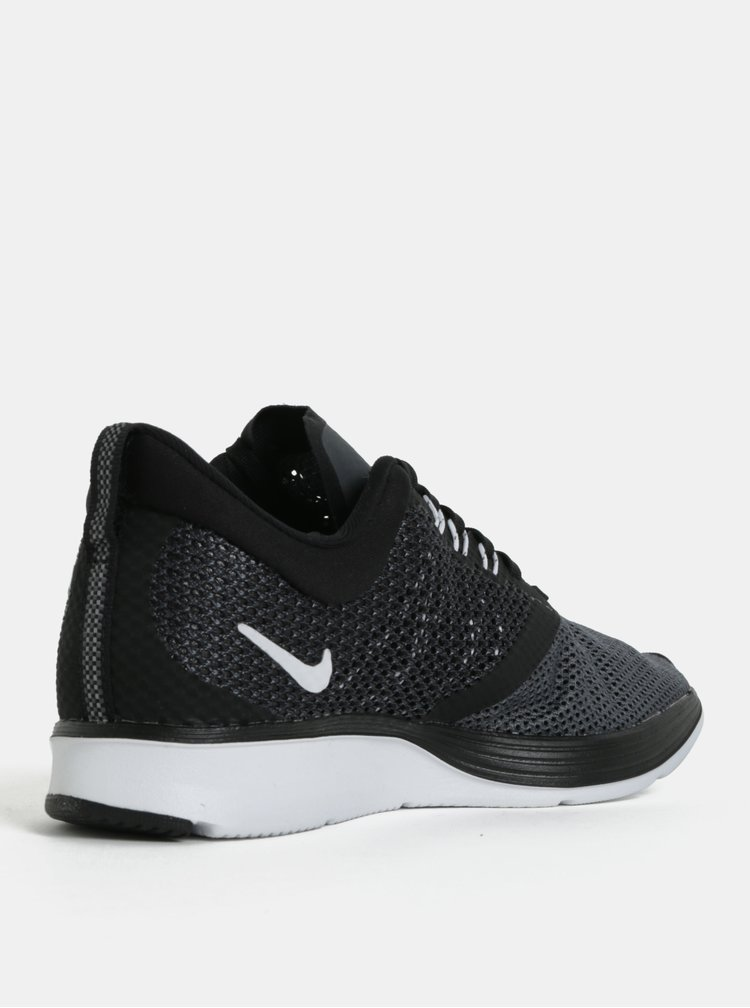 Zeleno-černé dámské tenisky Nike Zoom Strike
