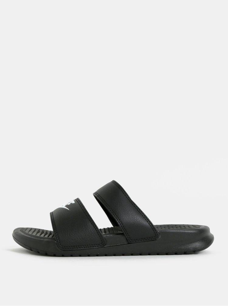 Čierne dámske papuče Nike Benassi Duo Ultra Slide