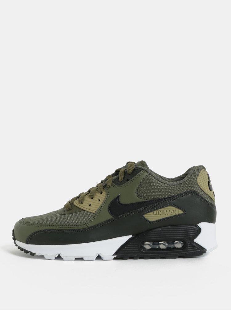 Tenisi barbatesti kaki din piele naturala  Nike Air Max '90 Essential