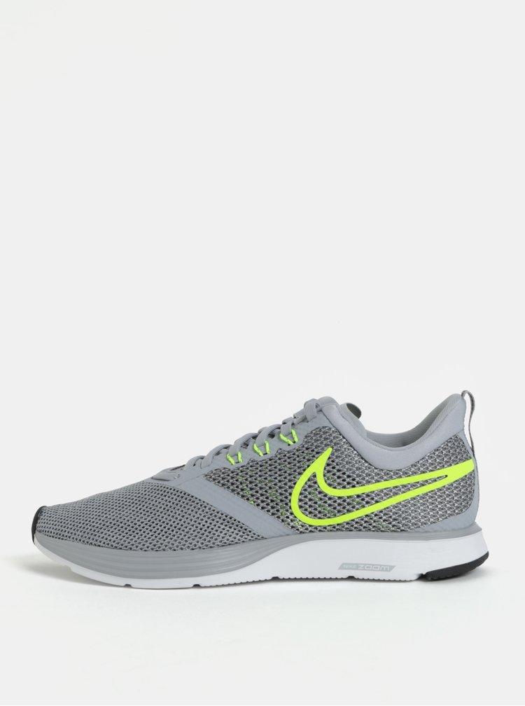 Šedé pánské tenisky Nike Zoom Strike Running