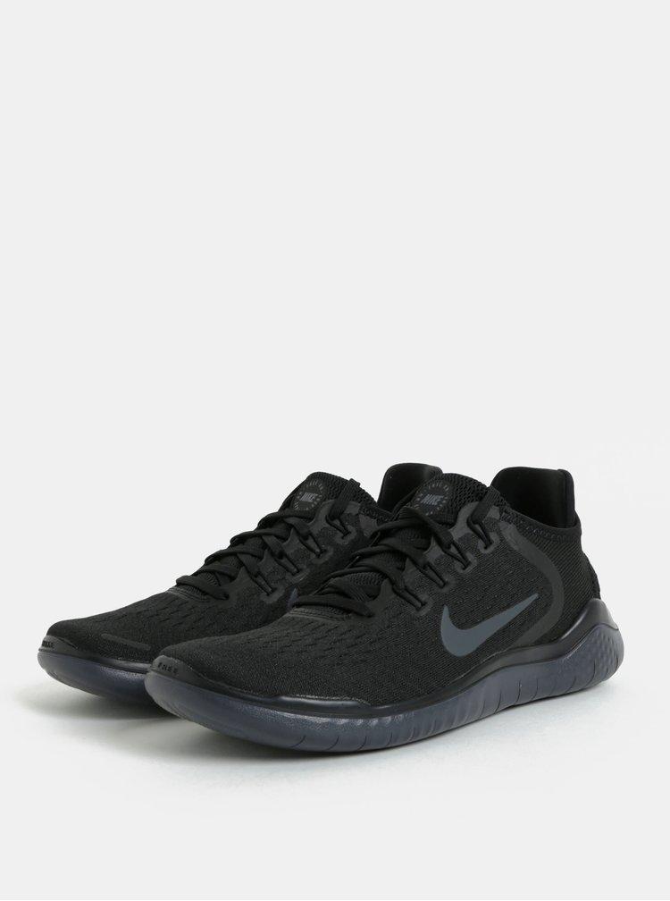 Černé dámské tenisky Nike Free RN 2018