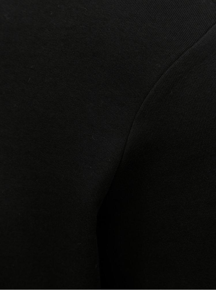 Černá lehká mikina s dlouhým rukávem Jack & Jones Holmen