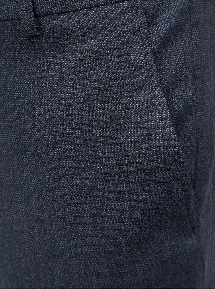 Pantaloni formali albastri Selected Homme