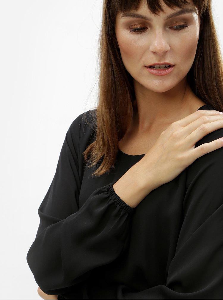Rochie mini neagra cu talie elastica VILA Lucy