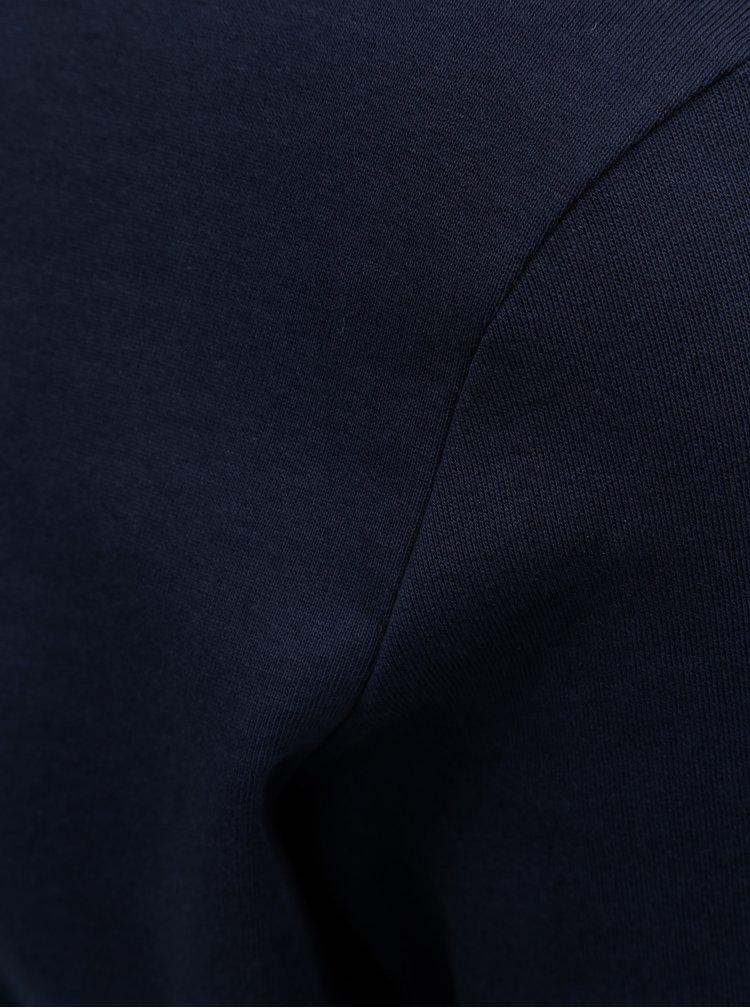 Tmavě modrá lehká mikina s dlouhým rukávem Jack & Jones Holmen