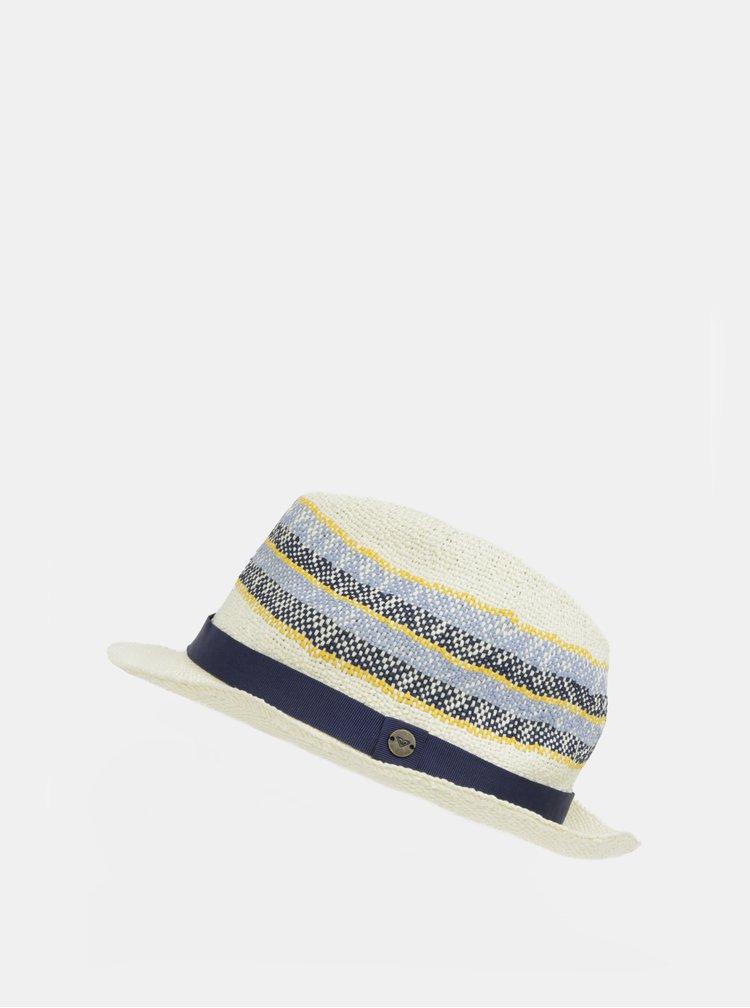 Krémový dámský vzorovaný klobouk Roxy Sentimiento