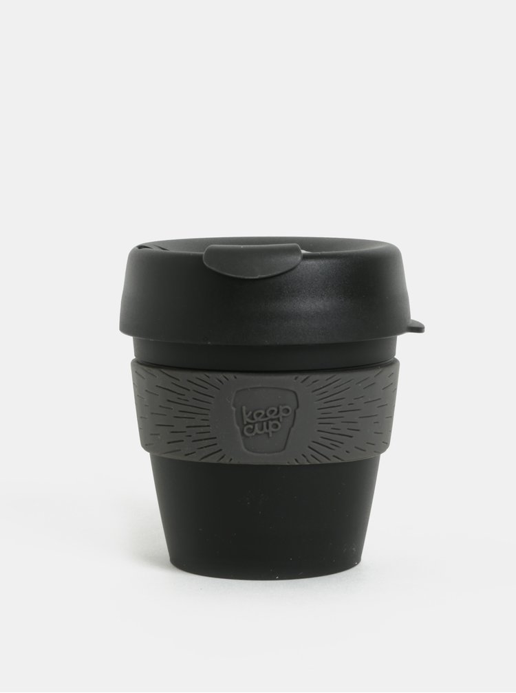 Cana de calatorie gri-negru KeepCup Original Small