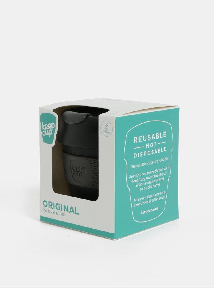 Šedo-černý cestovní hrnek KeepCup Original Small