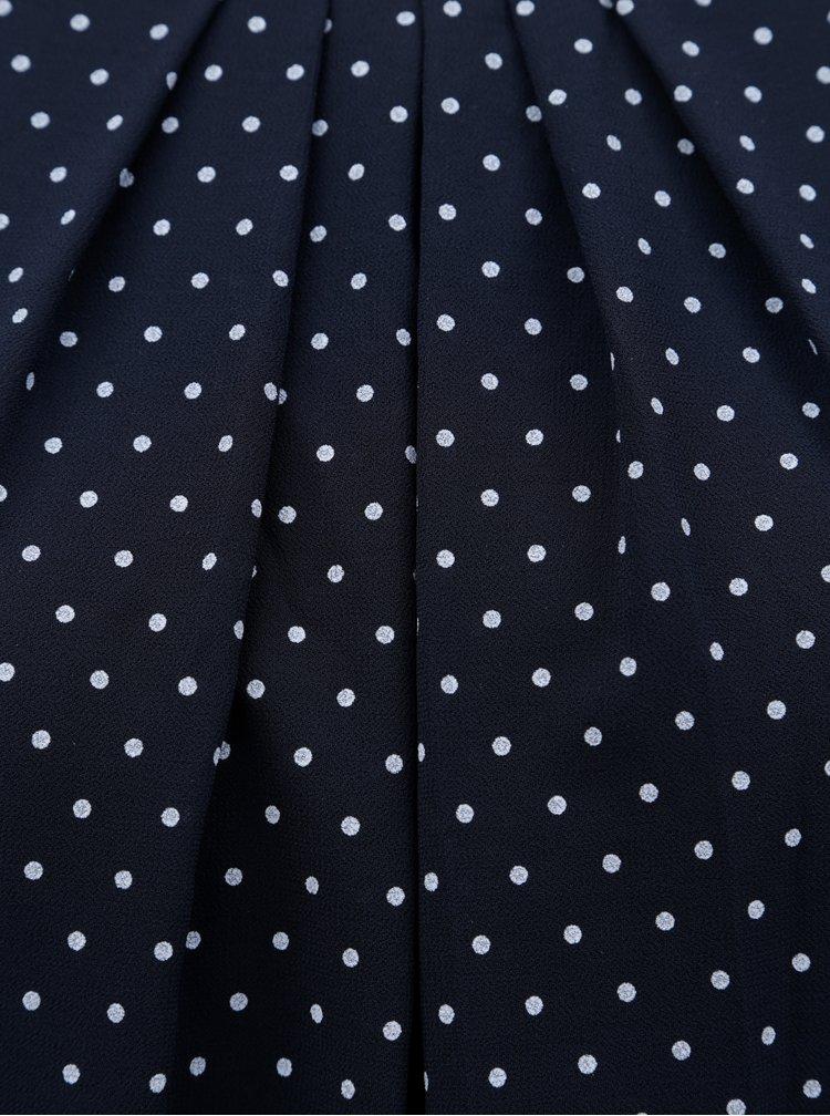 Modrá vzorovaná halenka Haily´s Dotty